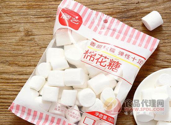 展艺棉花糖好在哪里?香甜软糯不粘牙