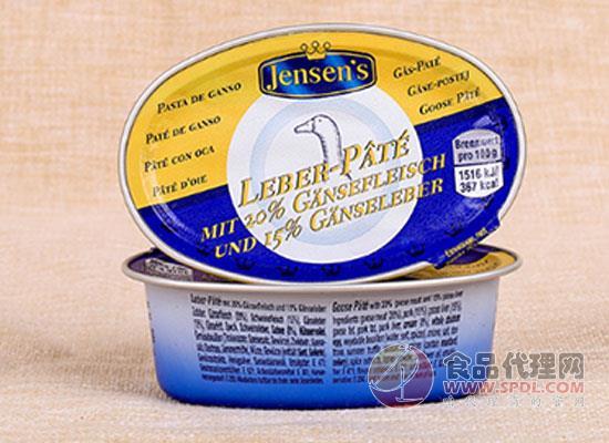 Jensen's鹅肝泥价格是多少?宝宝营养好选择