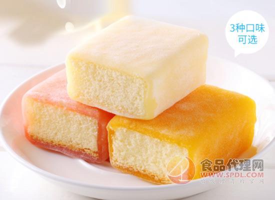 丹拿冰皮蛋糕怎么样,松软口感吃不腻