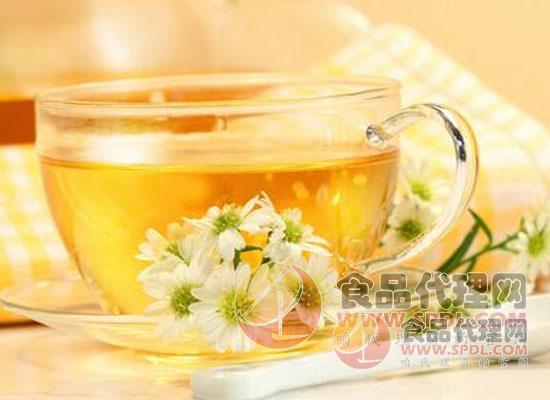 花丘冰糖蜂蜜菊花茶塊圖片