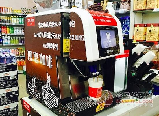 农夫山泉在便利店卖现磨咖啡,消费者会买单吗