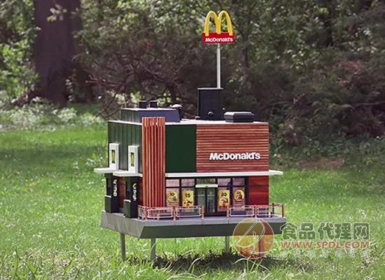 迷你门店引人关注,麦当劳开了一家卖蜂蜜的小店