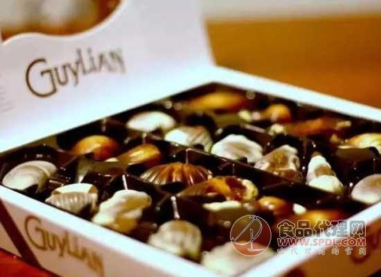 吉利莲贝壳巧克力好在哪里,别致小贝壳