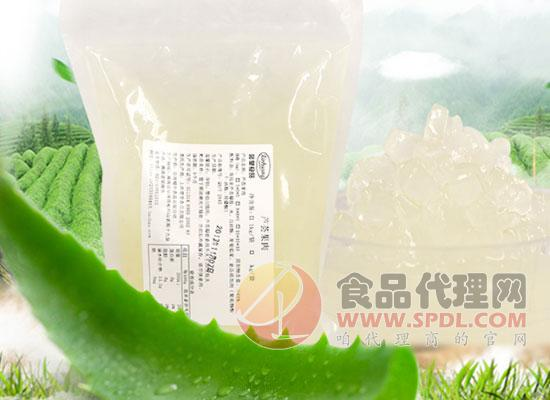 馨皇芦荟果肉粒图片