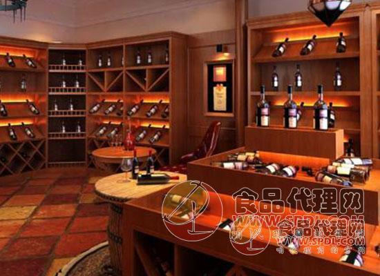葡萄酒实体店图片
