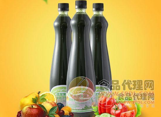 翡翠果蔬混合果汁图片