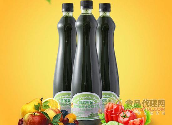 翡翠果蔬混合果汁价格是多少,口味多多