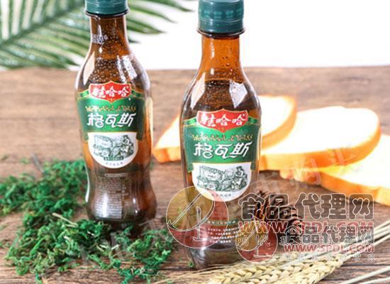 娃哈哈格瓦斯麦芽汁发酵饮品图片