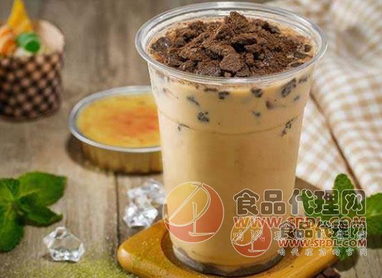 网红奶茶图片
