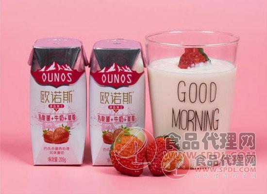 和平歐諾斯酸奶圖片
