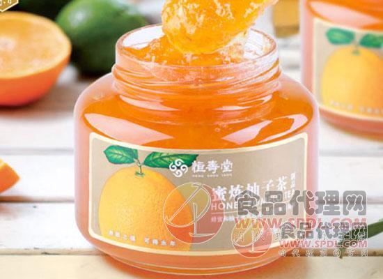 恒寿堂蜜炼柚子茶图片