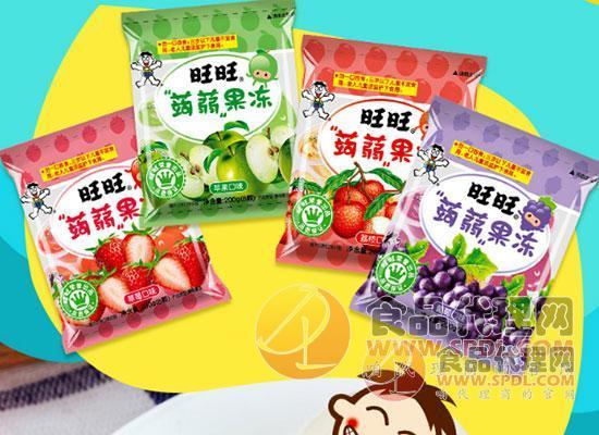 旺旺蒟蒻果凍圖片