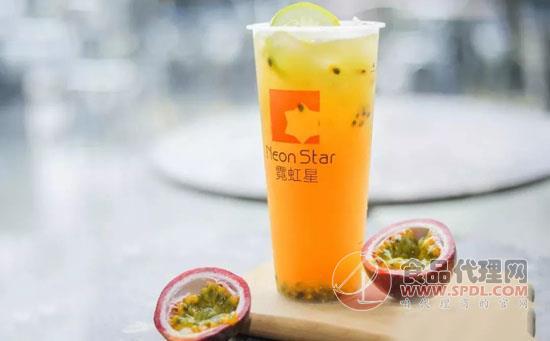 霓虹星多肉杨枝金露奶茶价格是多少,香甜可口