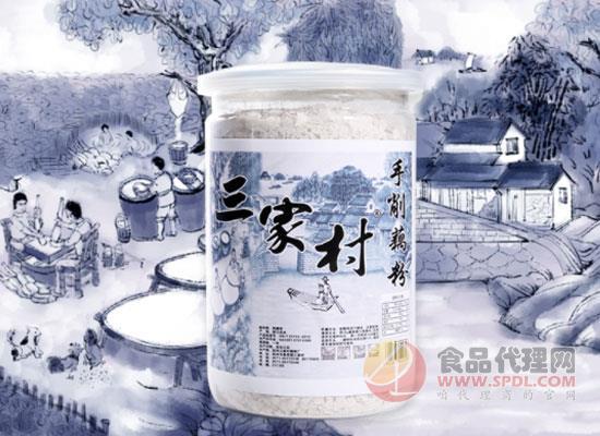 三家村藕粉厂打造经典手削藕粉,用实力传承健康理念