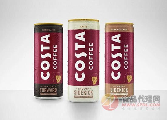 可口可樂新推罐裝即飲咖啡,三種口味強勢來襲