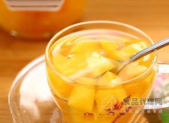 芝麻官水蜜桃罐头价格是多少,一罐白桃香甜可口
