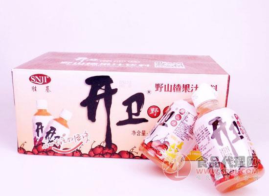 开卫野山楂果汁饮料价格是多少,酸甜开胃