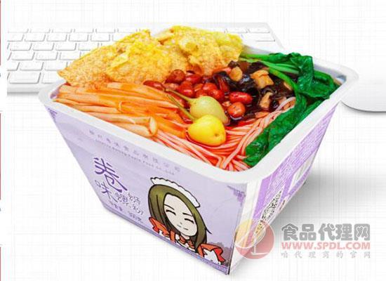 卷味螺螄粉速食酸辣粉300g*9碗價格是多少,酸辣可口方便簡單