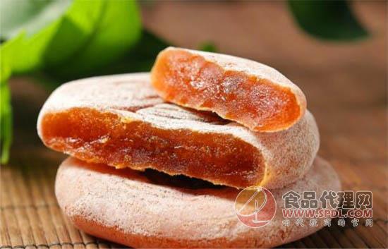 益佳富平柿餅500g價格是多少,果肉充實口感鮮爽