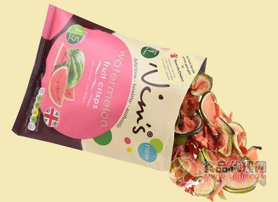 Nim推出西瓜脆片,每卖一包捐赠5便士给儿童救助会