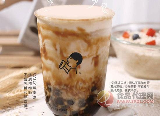 OATLY与喜茶联名推出限定饮品,燕麦奶波波上市