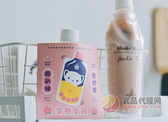 李茶德手搖奶茶價格是多少,好喝又好看