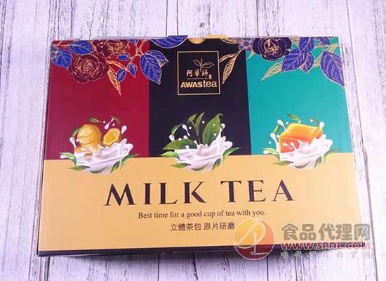 阿华师满心奶茶礼盒怎么样,低糖低脂惹人爱