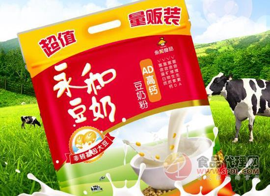 永和AD高钙豆奶粉价格是多少,健康营养畅享美味