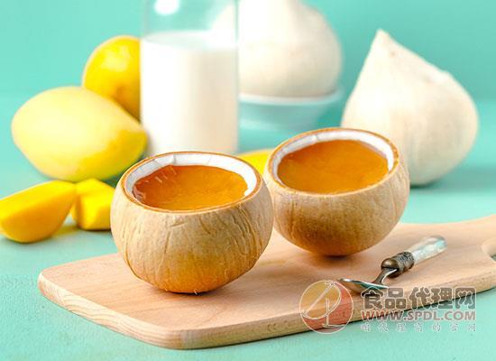 阿芙特濃椰奶凍口感如何,芒果與椰奶的碰撞