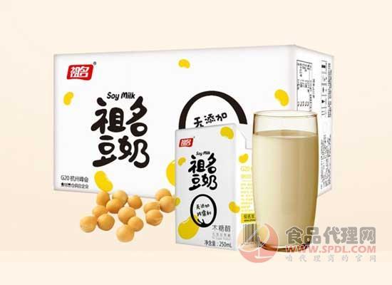祖名木糖醇豆奶价格是多少,口感醇厚
