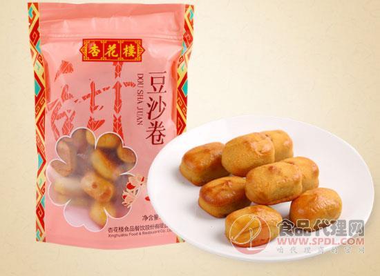 杏花楼豆沙卷怎么样,杏花楼豆沙卷好吃吗