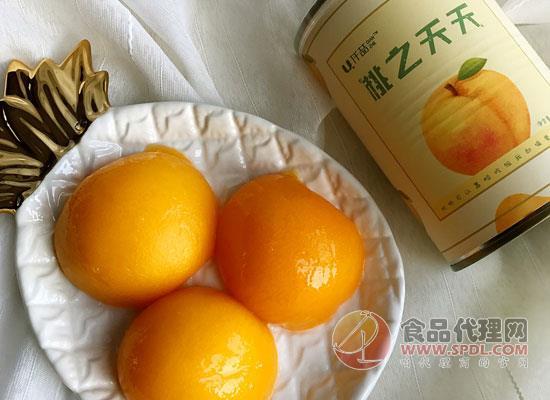 仟喆黃桃水果罐頭價格是多少,黃金色澤誘惑你的味蕾