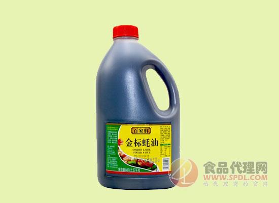 百家鲜金标蚝油价格是多少,蚝香千年,美味共享