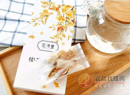 花潯墨桂花雪梨茶價格是多少,淡淡桂花香