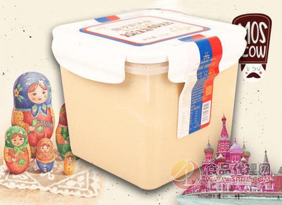 天潤俄羅斯炭燒老酸奶好喝嗎,酸甜可口營養自在
