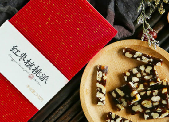 西域美农红枣核桃派怎么样,软糯香脆不粘牙