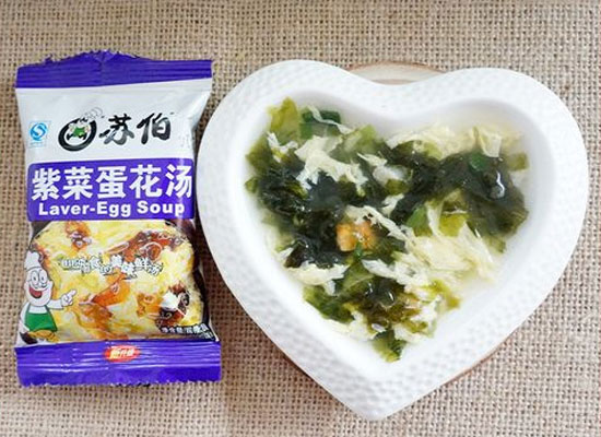 苏伯紫菜蛋花汤怎么样,即冲即食方便省时