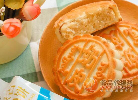 小奶花蒙古奶酪月餅怎么樣,奶香濃郁味道十足