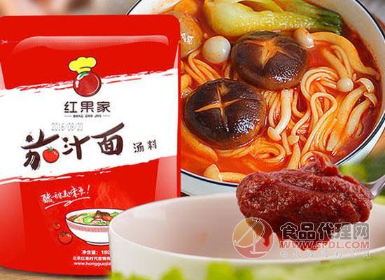 紅果家茄汁面湯料價格是多少,口感濃郁又酸甜