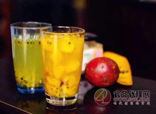 百香果汁怎么调,好喝的百香果汁就要自己调