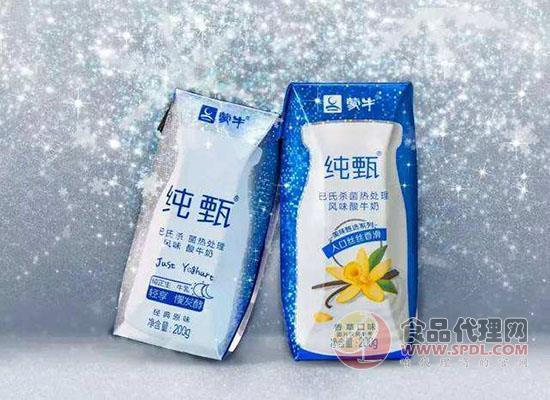 蒙牛純甄酸奶200g一箱多少錢,蒙牛純甄酸奶200g價格是多少