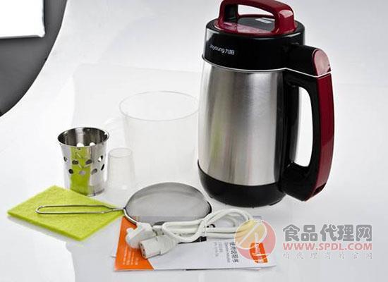 使用豆浆机有什么技巧,知道技巧做出新鲜豆浆