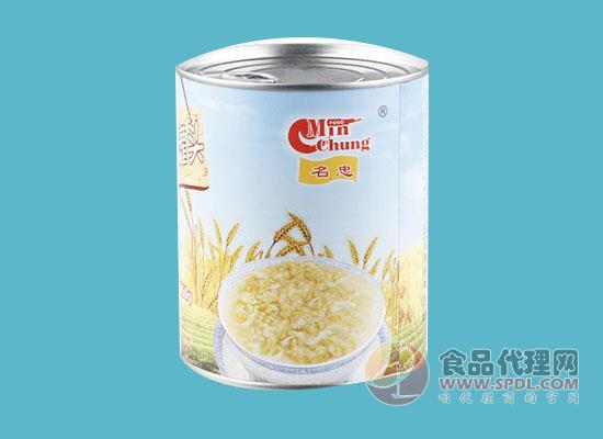 名忠燕麥罐頭價格是多少,名忠燕麥罐頭多少錢