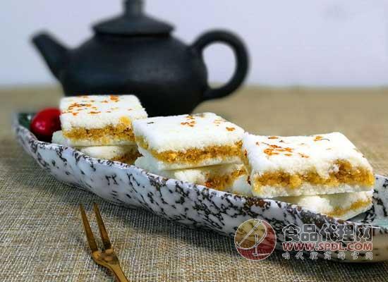韓灣桂花有米糕怎么樣,入口清爽香甜
