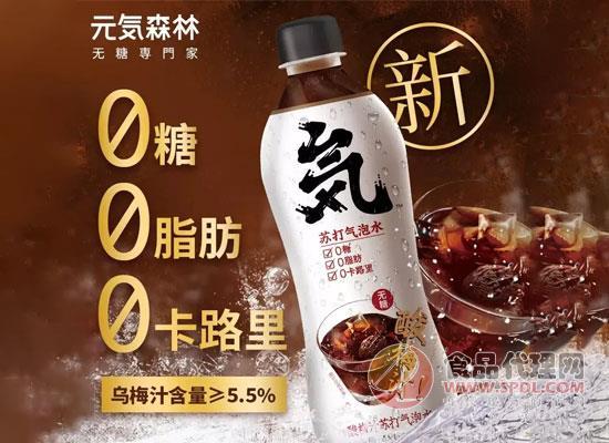 元気森林新品上市,酸梅汤苏打气泡水开启网上预售