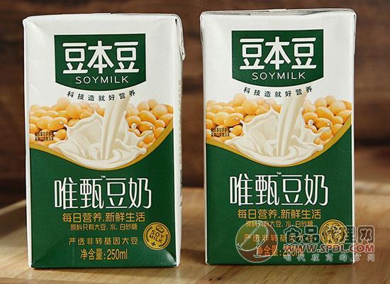 豆本豆豆奶一箱多少钱,科技造就好营养