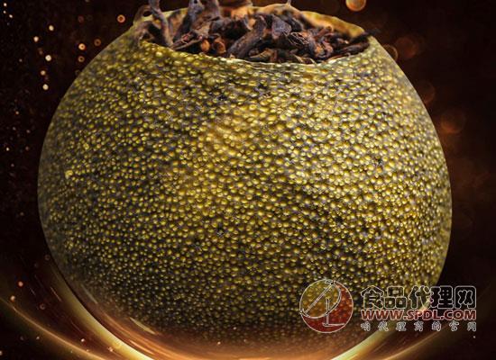 帝新小青柑茶葉價格是多少,濃郁耐泡粒粒精選