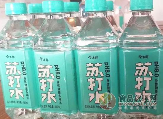 今麦郎再推饮料新品类,苏打水饮料正式上线!
