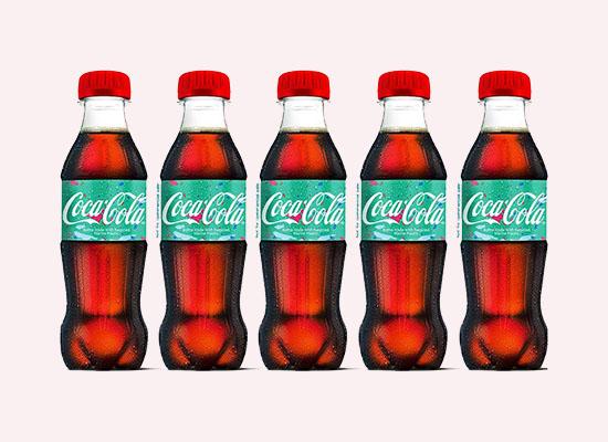 可口可樂新推海洋塑料垃圾再生瓶