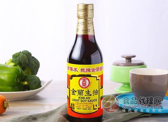 金蘭醬油590ml價格是多少,味道鮮美健康好料